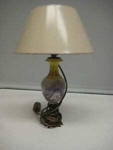 Vintage Porcelain Vase Table Accent Lamp