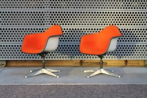 Charles Eames For Herman Miller Midcentury Executive Office Chairs
