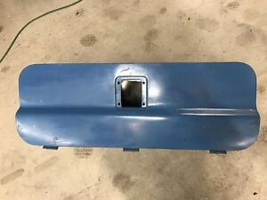 67 72 1967 1972 Ford Truck Bed Utility Tool Box Metal Nice