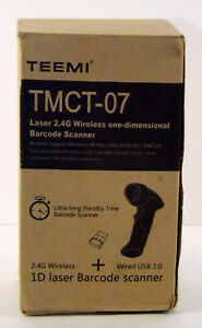 Teemi 2 4ghz Wireless Usb Automatic Laser Barcode Scanner 2 4g Tmct 07