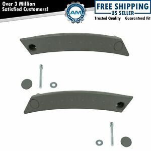 Front Interior Inside Door Handle Pull Handle Gray Pair Set 2pc For Vw Beetle