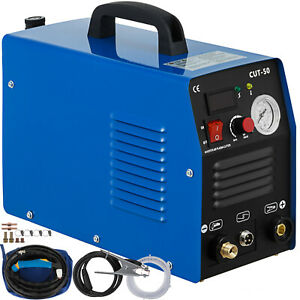 Cut 50 Plasma Cutter 50amp Inverter Welder Digital Air Cutting Machine Dual Volt