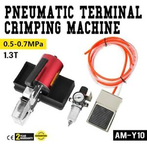 Am y10 Pneumatic Terminal Crimping Machine Crimper 0 5 0 7mpa Good Quality