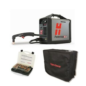 Hypertherm Powermax45 Xp Plasma Cutter With 20ft Hand Torch Bundle 088112