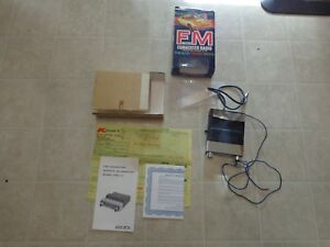 Audiovox Micro fm Converter Fmc 1c With Original Paper Work And Box Used