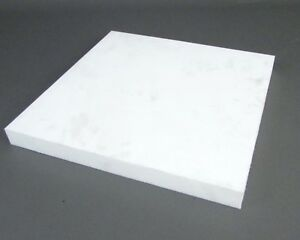 Teflon Ptfe Block Sheet Virgin Grade White 11 3 4 X 11 1 2 X 1 11 30 Lbs