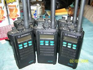 6 Six Motorola Astro Saber Ii Uhf Radios sold Individually