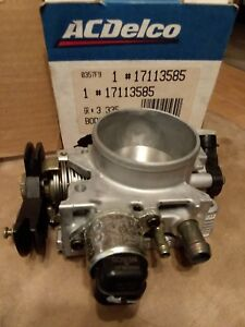 Nos Throttle Body With Sensors Oem Part Gmc Chevy S10 Sonoma 2 2 17113585 Jimmy