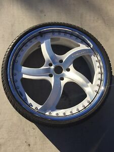 Minty 24 Inch Forgiato Rims
