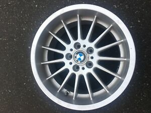 1 X Rare Genuine Bmw Style 32 18x9 Rim In Good Used Condition 5 6 7 8 Series
