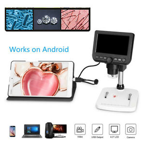 Hd 1080p 600x Usb Digital Microscope Camera Android Mac Tv Video Cam Endoscope