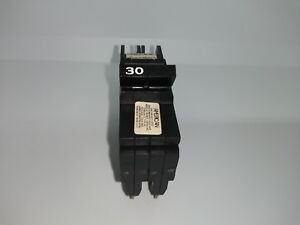 American Fpe Federal Pacific Nc230 2 Pole 30 Amp Circuit Breaker Thin 0230 Nc