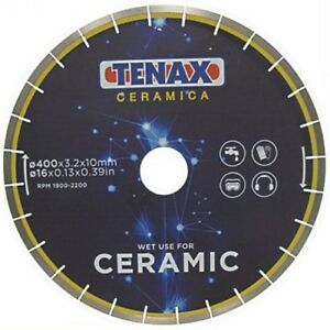 16 Inch Tenax Ceramic Diamond Blade