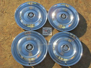 1960 Mercury Montclair Monterey Park Lane Colony Park 14 Wheel Covers Hubcaps