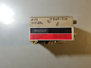 California Microwave Pll Brick Oscillator 3 64 Ghz To 4 37 Ghz 15dbm