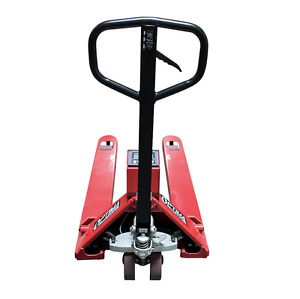 New Pallet Truck Pallet Jack Scale With Built in Printer 3 000 Lb Capacity