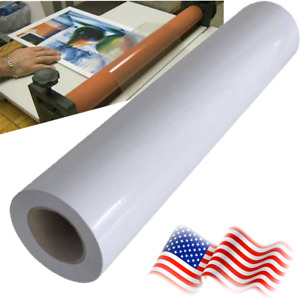 Matte Cold Laminating Film Monomeric 3 15mil Paper Adhesive Glue 30 x165ft Roll