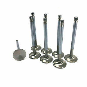 Sbc Chevy Exhaust Valves 8 1 500 X 4 960 11 32 Stainless 0 050