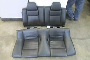 2011 Ford Mustang Rear Seat Leather Cpe Oem