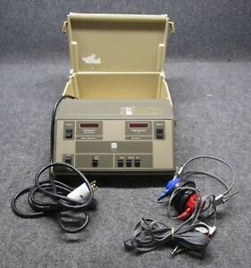 Maico Model Ma39 Hearing Audiometer With Headphones tested Working