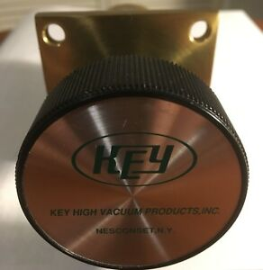 Key Brass Manual Bellows Vacuum Valve