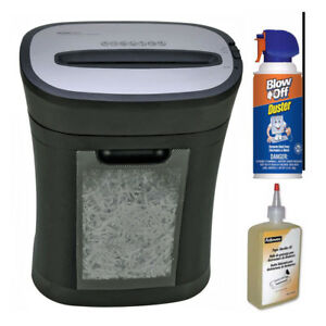 Royal Hg12x 12 Sheet Cross Cut Shredder With Lubricant Oil And Duster Cleaner