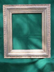 Antique Large Wood Gesso Gold Gild Picture Frame For An Oil Painting Or Mirror