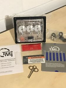 New Tmi Tm160 104y 3 a Time Lock 16000 Case 3 104y Movements