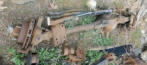 1999 Ford F250sd F350sd Front Axle Assembly 127k W 90 Day Warranty 4 10 Ratio