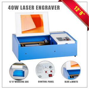 New 40w Co2 Laser Engraving Cutting Machine Engraver Cutter Usb Port