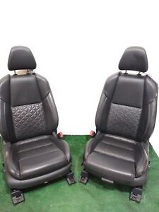 16 17 Maxima Black Leather Front Bucket Seats Heated Cooled Platinum Edition Oem