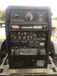 2014 Lincoln Vantage 500 Turbocharged Diesel Trailer Mounted