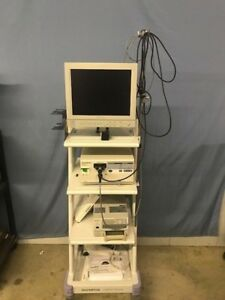 Complete Olympus Endoscopy Tower Otv s7h n Wa03200a Otv si Up 20