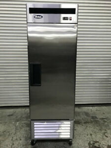 1 Door Reach In Refrigerator Atosa Mbf8505 Nsf Cooler 8955 Stainless Steel Food