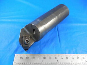 A24 Ner3 Boring Bar 1 1 4 4 7 8 Holds Top Notch Grooving Inserts Coolant Thru