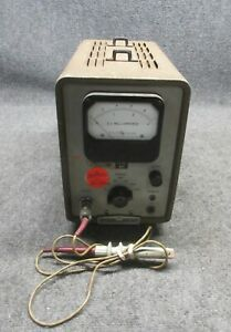 Vintage Hp 428a Clip on Dc Multimeter W Degaussing Function Probe tested