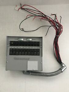 Reliance Controls Generator Transfer Switch Cat No A310c 30 Amps 125 250 Vac