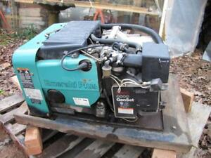Onan 4kw Generator Emerald Plus 4000 Genset Rv Motorhome Gas Power