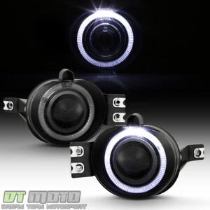 Smoke 2002 2008 Dodge Ram 1500 Led Halo Projector Fog Lights Lamps Left right