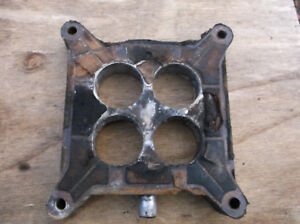 1963 1 2 Falcon 289 Autolite 4100 4v Carburetor Carb Spacer C3oe 9a589 e