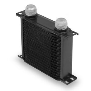 Earls 21916aerl 19 Row Oil Cooler 16 An Black