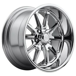 Cpp Us Mags U110 Rambler Wheels 15x7 15x8 Fits Ford Fairlane Thunderbird