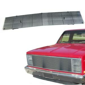 Billet Grille Chrome For 1981 1987 Chevy Gmc Pickup Suburban Blazer Jimmy