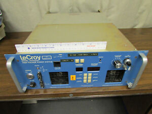 Lecroy Model Hv4032a High Voltage Power System Rack Mount No Modules As is