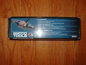 Matco Tools Mt2814 1 4 Composite Air Ratchet