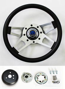 70 76 Dodge Dart Charger Demon Black 4 Spoke Steering Wheel 13 1 2