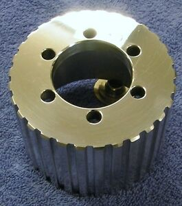 New 1 2 Pitch W 30 Tooth Blower Supercharger Pulley Snout Hemi Gasser Chevy 671
