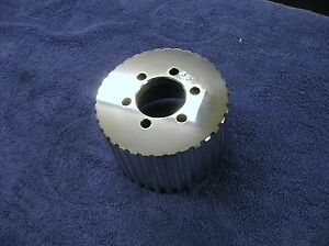 New 1 2 Pitch 35 Tooth Blower Supercharger Pulley Snout Gasser Chevy 671 471