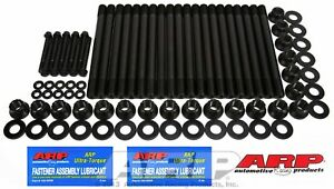 Arp 250 4203 6 Cylinder Arp2000 Head Stud Kit 12 Point Nuts Fit Ford