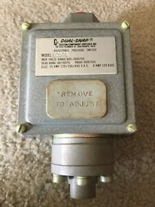 Ccs Custom Component Switches 605g6 Pressure Switch New In Box